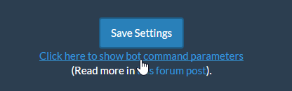 New Command! Update Submission Settings through chat - Archive